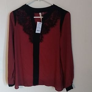 NY Collection Blouse NWT
